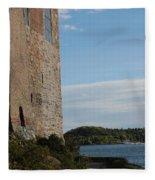 Oslo Castle And Harbor Fleece Blanket