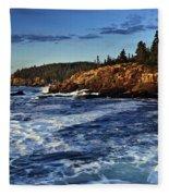 Otter Cliffs Fleece Blanket