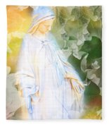 Our Lady Of Nature Fleece Blanket