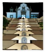 Our Lady Of Peace Chapel  Fleece Blanket