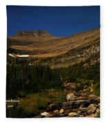 Our Mountains Fleece Blanket
