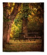 Our Special Place Fleece Blanket