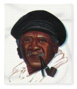 Ousmane Sembene Fleece Blanket