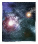 Out There Fleece Blanket