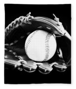 Out To The Ball Park Fleece Blanket