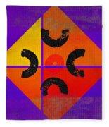Outback De Stijl Fleece Blanket