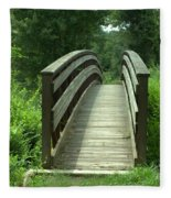 Over The Bridge Fleece Blanket