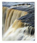 Over The Edge Fleece Blanket