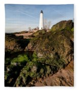 Over The Jetty Fleece Blanket