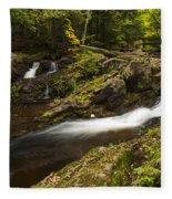 Overlook Falls 1 Fleece Blanket