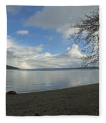 Owen Beach Fleece Blanket