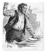 Owen Lovejoy (1811-1864) Fleece Blanket