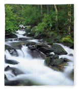 Owengarriff River, Killarney National Fleece Blanket