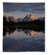 Oxbow Bend  Fleece Blanket