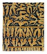 Oxidized Vitamin C Fleece Blanket