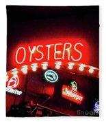 Oysters Fleece Blanket