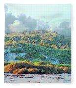 Padres Island National Park Beach Fleece Blanket
