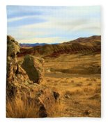 Painted Afternoon Fleece Blanket