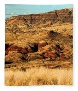 Painted Hills In Sheep Rock Fleece Blanket