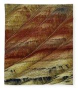 Painted Hills Lines Fleece Blanket