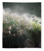 Painted Pampas Fleece Blanket