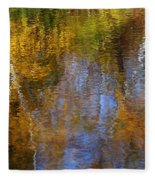 Painted River Fleece Blanket