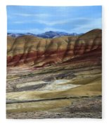 Painted Sunset Fleece Blanket