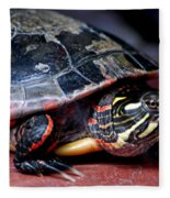 Painted Turtle Michigan Fleece Blanket