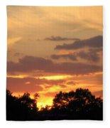 Painting The Sky  Fleece Blanket