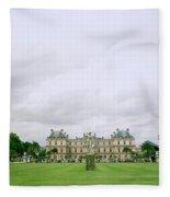 Palais Du Luxembourg Fleece Blanket
