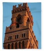 Palazzo Vecchio In Florence  Fleece Blanket
