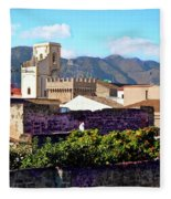 Palermo View Fleece Blanket