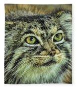 Pallas Cat Fleece Blanket