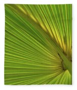 Palm Leaf II Fleece Blanket