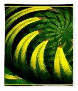 Palm Tree Abstract Fleece Blanket