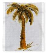 South Carolina Palm Tree Fleece Blanket