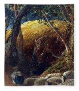Palmer: Apple Tree Fleece Blanket