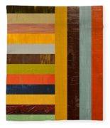 Panel Abstract - Digital Compilation Fleece Blanket
