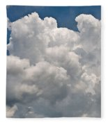 Panoramic Clouds Number 1 Fleece Blanket