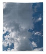 Panoramic Clouds Number 1o Fleece Blanket
