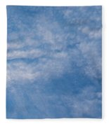 Panoramic Clouds Number 4 Fleece Blanket