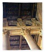 Pantheon Columns Fleece Blanket