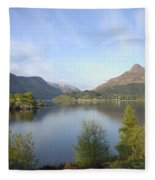 Pap Of Glencoe Fleece Blanket
