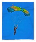 Parachuting Fleece Blanket
