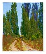 Paradise Road Fleece Blanket