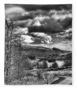 Parc Cwm Darran Mono Fleece Blanket