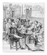 Paris: Chat Noir, 1889 Fleece Blanket
