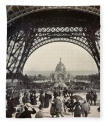 Paris Exposition, 1889 Fleece Blanket