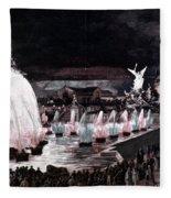 Paris: Fountains, 1889 Fleece Blanket