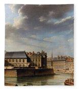 Paris: Ile Saint-louis Fleece Blanket